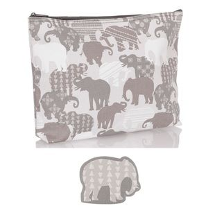 Thirty-One Elephant Zipper Pouch and 3 Nail Files